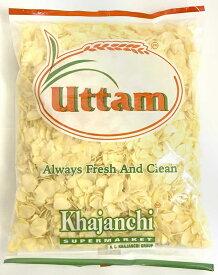 【にんにく】 ガーリック フレーク Garlic Flakes 【500gパック】 / UTTAM インド スパイス カレー エスニック アジアン 食品 食材 食器