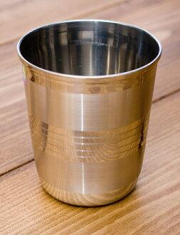 不锈钢古生物学 [直径: 7 厘米 x 高度: 8 厘米,柴,柴杯眼镜