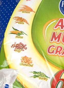 【ナン】 雑穀入り アタ粉 ATTA MULTI GRAINS 【1Kg】 / Pillsverry インド料理 全粒粉 Pillsbury(ピルスベリー) スパイス カレー エスニック アジアン 食品 食材 食器