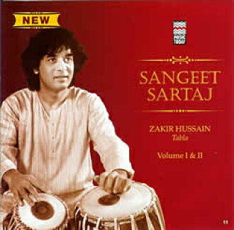 Sangeet Sartaj - Zakir Hussain Vol.1 and 2 | cd zakiru·fuseintaburaindo古典CD印度音乐民族音乐