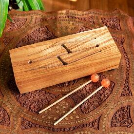 【送料無料】 木のタンドラム / スリットドラム タンドラムバリ 打楽器 コロンビア 民族楽器 インド楽器 エスニック楽器 ヒーリング楽器