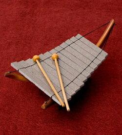 ベトナムのミニ石琴(ダン ダー) / ダンダー Dan 鉄琴 民族楽器 打楽器 インド楽器 エスニック楽器 ヒーリング楽器