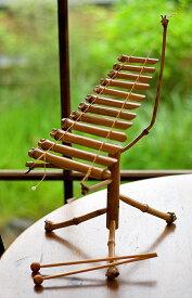 ベトナムのミニ竹琴(ダン トルン) / ダントルン Dan TRUNG 民族楽器 打楽器 インド楽器 エスニック楽器 ヒーリング楽器