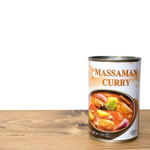 マッサマンカレー缶 ‐ MASSAMAN CURRY 【Orient Gourmet】 / トムヤム トムヤムクン トムヤムスープ 缶詰 Gourmet(オリエント グルメ) インド レトルト アジアン食品 エスニック食材