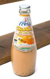【バジルシードドリンク】 瓶 タイミルクティー味 【V Fresh】 / タイティー ダイエット Fresh(ブイ フレッシュ) BBQ 食品 エスニック アジアン インド 食材 食器