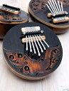 7弦ココナッツカリンバ 【ナチュラル・小】 / 民族楽器 バリ レビューでタイカレープレゼント あす楽