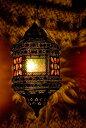 【送料無料】 吊り下げアラビアンランプ 提灯型 / アジアン インテリア ランプシェード エスニック インド 雑貨