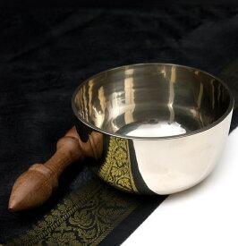 【送料無料】 高音質シンプルシンギングボウル 11.7cm / シンギングボール Singing Bowl 仏教 楽器 瞑想 民族楽器 インド楽器 エスニック楽器 ヒーリング楽器