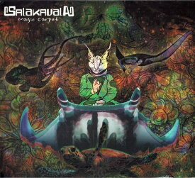 Salakavala Magic Carpet CD / SUOMI スオミトランス サラカバラ HippieKiller suomi 六次元音 6d soundz dimension sounds ゴア レイブ