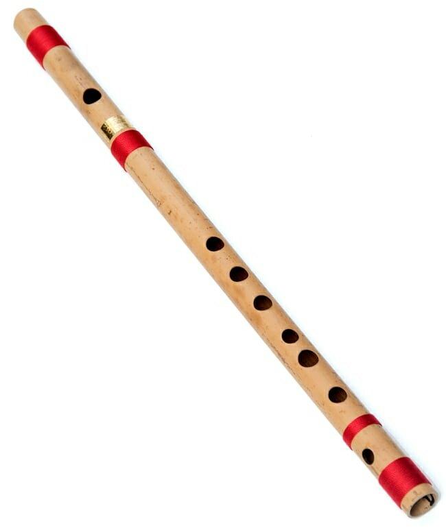 高品質コンサート用バンスリ(D#管) / Bansli インド 管楽器 送料無料 レビューでタイカレープレゼント あす楽