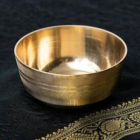 ブラスボウル / 礼拝品 食器 インド ランプ お香立て インセンス アジア エスニック