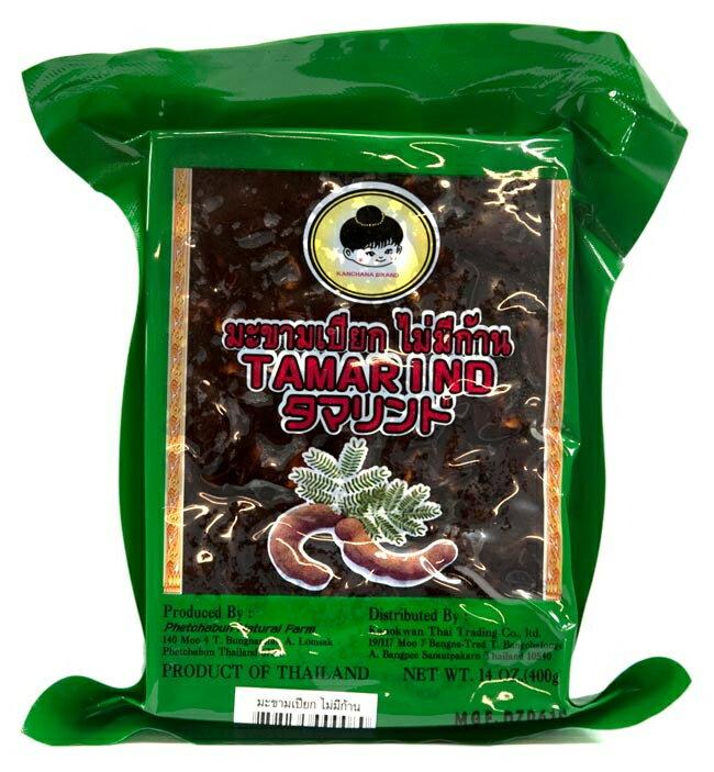 タマリンド 調理用 果肉のみ パック 400g / タマリンドペースト レビューでタイカレープレゼント あす楽