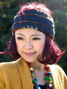 ウールとコットンのヘアバンド / 季節:秋 季節:冬 ターバン アジア アジアン ネパール 帽子 エスニック衣料 アジア…