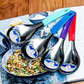 昭和レトロなタイの大きめスプーン 22.5cm / レードル 食器 アジア 箸 箸置き フォーク アジアン食品 エスニック食材