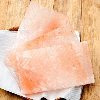 粉紅石鹽銘牌(M尺寸)喜馬拉雅山尼泊爾黑色鹽黑色石鹽族群亞洲印度食品食材