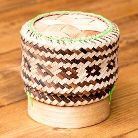 タイの竹製ごはんケース / 籠 竹籠 米 タイライス カゴ エスニック料理 スーパーフード インド アジア 食材 食品 新入荷 アジアン 食器