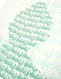 (160cm×70cm)ヒストリーブッダのファンシーストール / ラムナミ チベット 布 ショール ドゥパッタ スカーフ レディース エスニック衣料 アジアンファッション エスニックファッション