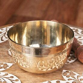 シンプルシンギングボウル ライン模様入り 10.5cm / シンギングボール Singing Bowl 仏教 楽器 瞑想 民族楽器 インド楽器 エスニック楽器 ヒーリング楽器