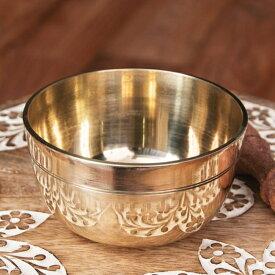 シンプルシンギングボウル ライン模様入り 11.3cm / シンギングボール Singing Bowl 仏教 楽器 瞑想 民族楽器 インド楽器 エスニック楽器 ヒーリング楽器