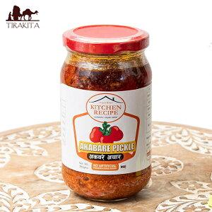 Hot Cherry Pepper Pickle(辛い丸い唐辛子のピクルス)【AAMA ko ACHAR】 / アチャール 漬物 ネパール 食品 DRUK/Kitchen Recipe/AAMA クイック 時短 調味料 アジアン食品 エスニック食材