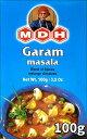 ガラムマサラ スパイス ミックス 100g 小サイズ 【MDH】 / インド料理 カレー MDH(エム ディー エイチ) アジアン食…