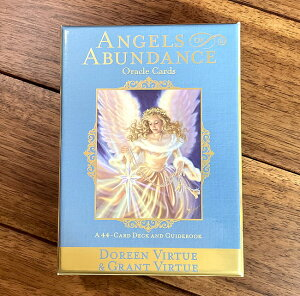 ANGELS of ABUNDANCE ORACLE CARDS−エンジェルオブアバンダンスオラクルカード / 占い カード占い タロット ヴィジョナリー カンパニー スピリチュアル ヒーリング インド アジア エスニック 雑貨