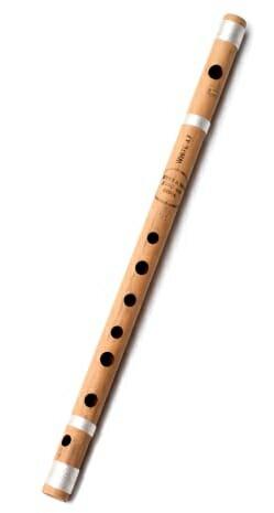 バンスリ(通常管) / Bansli インド 管楽器 フルート レビューでタイカレープレゼント あす楽