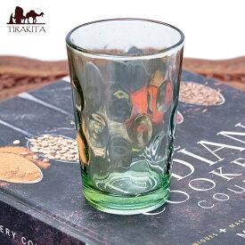 インドのチャイ カップ 装飾つき 直径 6.5cm程度 高さ 9.5cm程度 / チャイカップ チャイコップ インド食器 アジアン食器 アジア雑貨 グラス ラッシー マグカップ コーヒー アジアン食品 エスニック食材