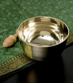 【送料無料】 高音質シンプルシンギングボウル 12cm×6.5cm / シンギングボール Singing Bowl 仏教 楽器 瞑想 民族楽器 インド楽器 エスニック楽器 ヒーリング楽器
