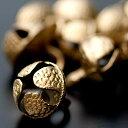 グングル用鈴(中)10個セット 手芸 ベル インド 打楽器 民族楽器 銅鑼 ドラ アジア エスニック