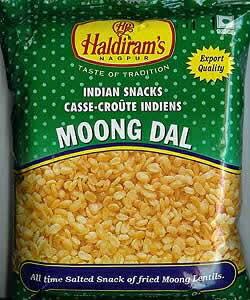 インドのお菓子 フライドビーンズ ムングダル - MOONG DAL 【レビューで50円クーポン進呈&あす楽】 ハルディラム ナムキン ナムキーン インスタント スナック エスニック アジア 食品 食材