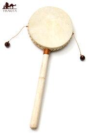 インドネシアのでんでん太鼓【中】 / バリ 打楽器 民族楽器 インド楽器 エスニック楽器 ヒーリング楽器