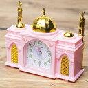 アザーン目覚まし時計−モスク-ピンク インド映画 神様 エスニック アジア 雑貨