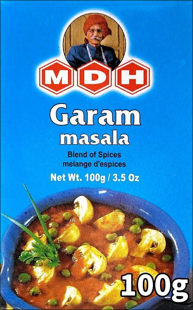 ガラムマサラ スパイス ミックス 100g 小サイズ 【MDH】 / インド料理 カレー あす楽