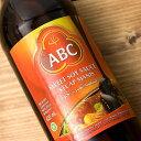 ケチャップマニス (甘口醤油) 600ml Kecap Manis 620ml 【ABC】 / 甘醤油 ブラックソイソース インドネシア ハラル AB…