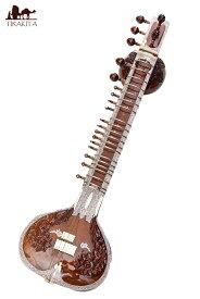 【送料無料】 【PALOMA社製】ダブルトゥンバ高級シタールセット(グラスファイバーケース) / ダブルトゥンバシタール Sitar インド 楽器 民族楽器 インド楽器 エスニック楽器 ヒーリング楽器
