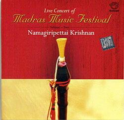 Live Concert of Madras Music Festival Vol. 2 / 南インド古典 cd あす楽
