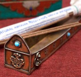 チベット香用アンティックお香立て【大】 / アンティーク チベタン ネパール インセンス インド アジア エスニック