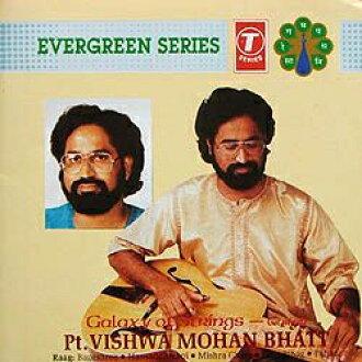 Galaxy of Strings-Pt.Vishwa Mohan Bhatt cd莫汉维纳斯骑吉他印度古典gitaru CD印度音乐民族音乐