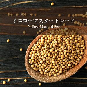 【マスタードシード】 イエロー Yellow Mustard Seed 【500gパック】 / UTTAM フェネグリーク インド スパイス カレー エスニック アジアン 食品 食材 食器
