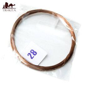 2弦用シタール弦(銅 28番) / 部品 民族楽器 インド楽器 エスニック楽器 ヒーリング楽器