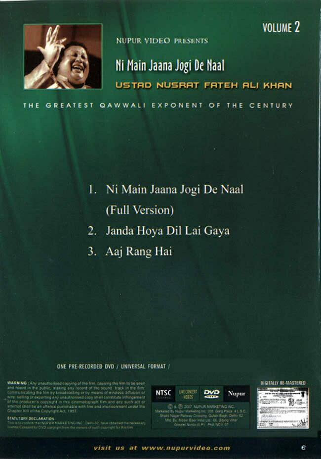 Nupur Live Concert 2 Ni Main Jaana Jpgi De Naal DVD / 映画 dvd あす楽