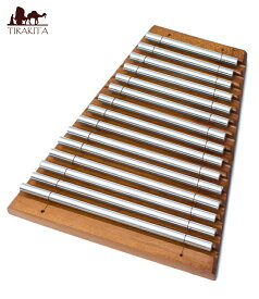 【送料無料】 エナジーチャイム 15音 / 鉄琴 バリ 打楽器 民族楽器 インド楽器 エスニック楽器 ヒーリング楽器