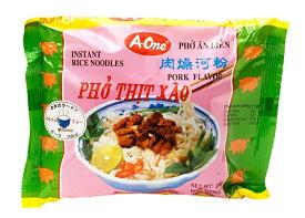 ベトナム フォー (袋) 【A One】 ポーク味 / ベトナム料理 インスタント麺 One(エーワン) ベトナム食品 ベトナム食材 アジアン食品 エスニック食材