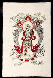 ロクタ紙ポスター ロケシュワラ / 神様 インド 本 印刷物 ステッカー ポストカード