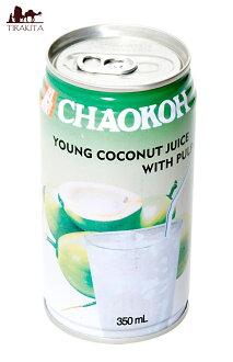 椰子果汁纸浆流入罐 [350 毫升]