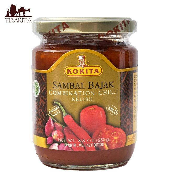 インドネシア チリ ソース サンバル バジャック Sambal Bajak 【KOKITA】 / インドネシア料理 チリソース レビューでタイカレープレゼント あす楽