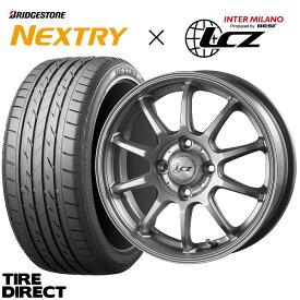 2021年製 ネクストリー 155/65R14 75S ホイールセット LCZ 010 14インチ×4.5J アルミ 4本セット 新品 ブリヂストン NEXTRY 155/65-14 サマータイヤ 夏タイヤ 軽自動車 スペーシア タント N-BOX