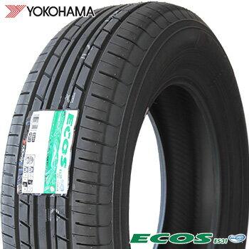 【2017年製】 195/60R15 ヨコハマ エコス ES31 サマータイヤ 1本 YOKOHAMA ECOS 【2】
