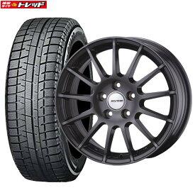 【取付対象】 【送料無料】新品タイヤ 4本セット Weds ウェッズ IRVINE F01 8J-18 +30 112 5H + ヨコハマ iceGUARD IG50 245/45R18 格安スタッドレス 国産
